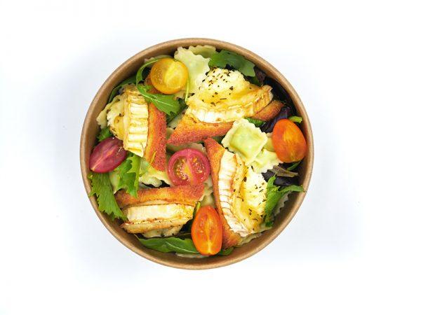 Salade Chèvre & Ravioles Traiteur à Pierrelatte dans la Drôme